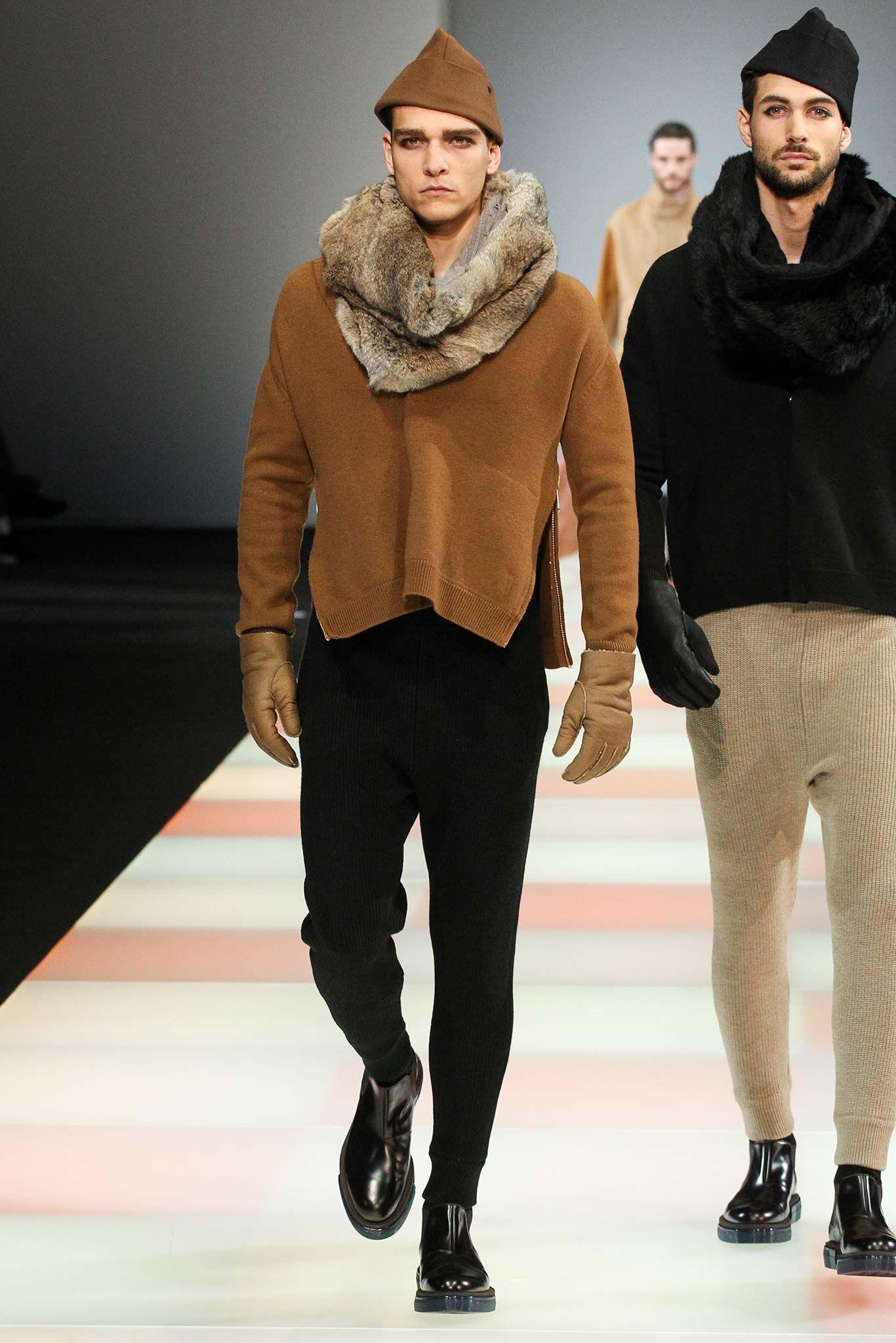 Emporio Armani - Fall 2015 Menswear - Look 6 of 77