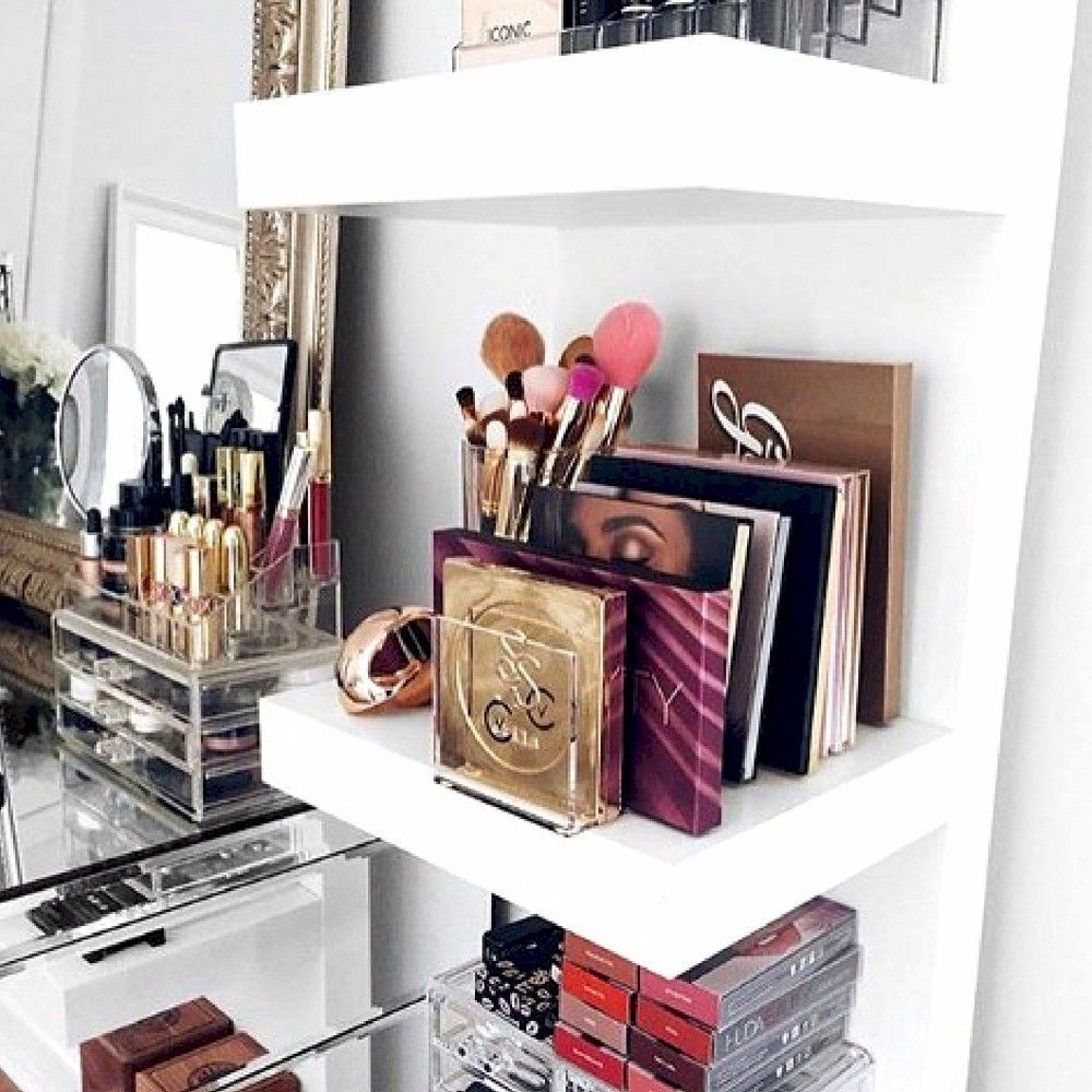 53 Dressing Table Ideas In Your Room Makeup storage