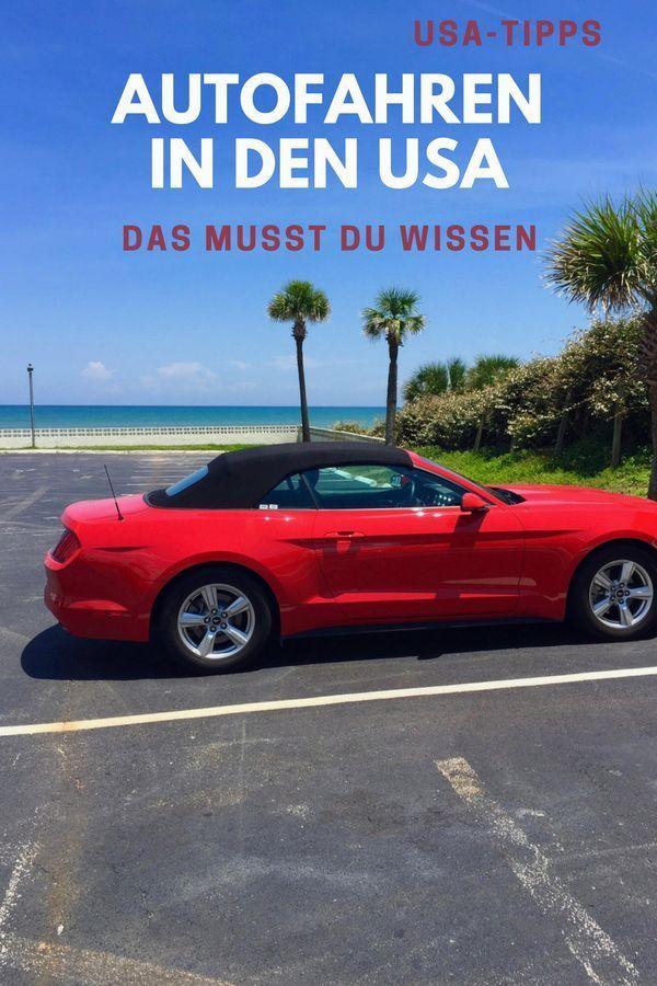 Autofahren in den USA - Alles, was du wissen musst #travelnorthamerica