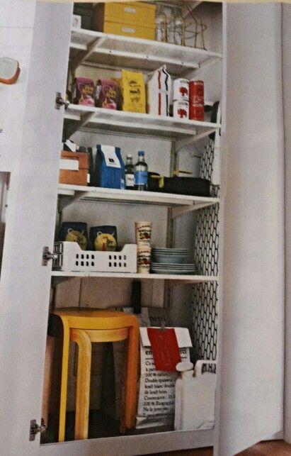 Dispensa con sistema algot di ikea da casafacile for Ikea dispensa