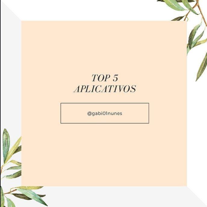 Top 5 Aplicativos Muita Gente Me Pergunta Quais App