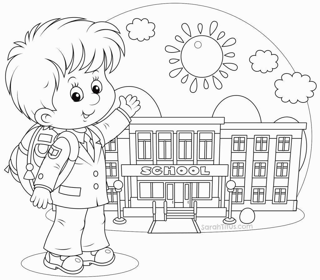 Coloring Pages Back To School | Coloring Pages | Pinterest | School