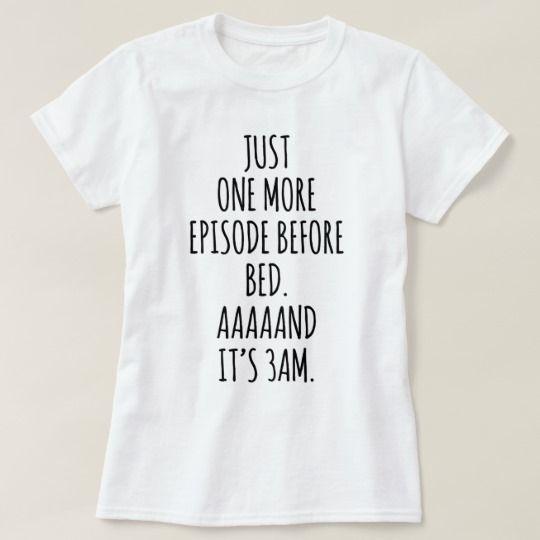 Binge Watching Addict Funny Pajama Shirt | Zazzle.com