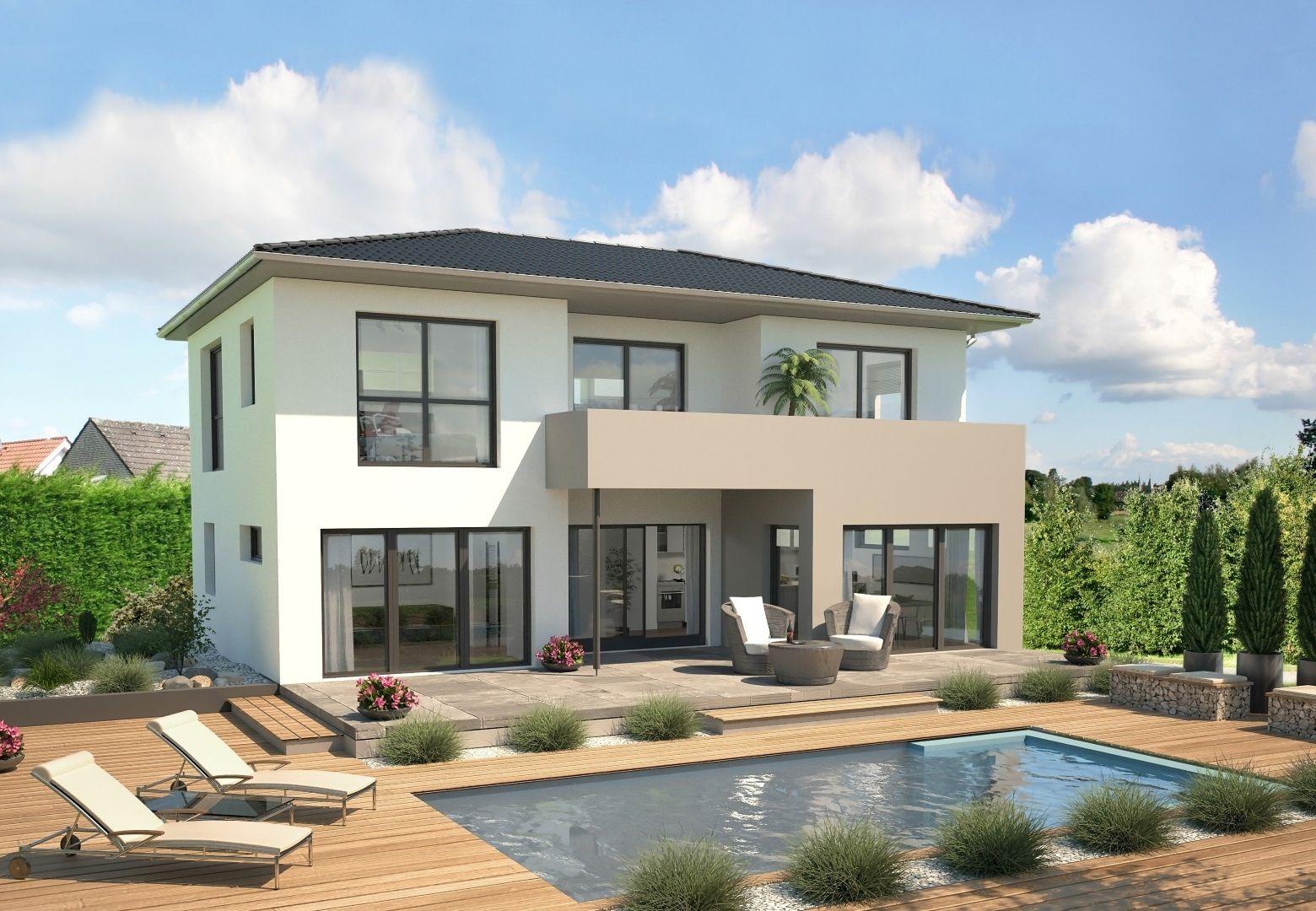 Stadtvilla modern  Ähnliches Foto | Modern House Exteriors | Pinterest | Haus bauen ...