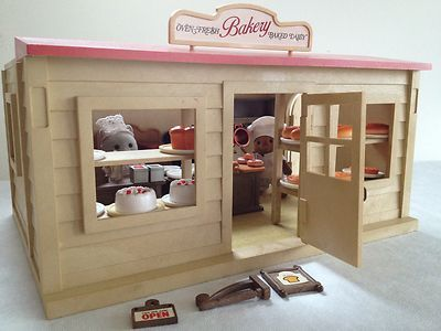 Sylvanian Families Bakery I Remember My Dad Bought Me This I