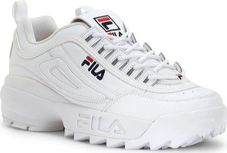 554cb2bc97b8 Disruptor II | Style | Fila disruptors, Fila mens shoes, White shoes men