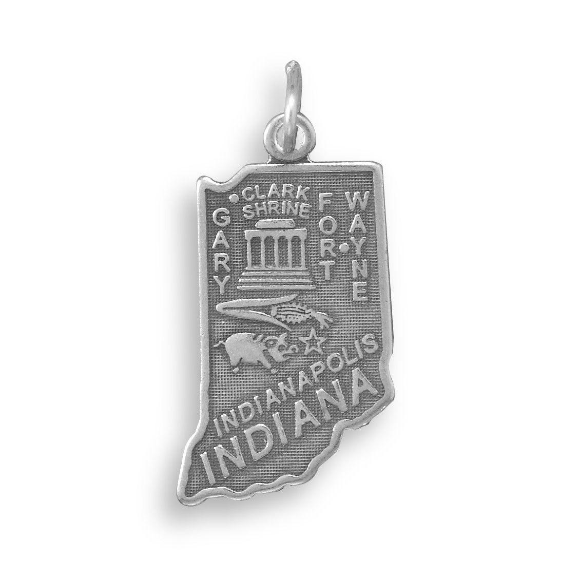 Indiana State Charm