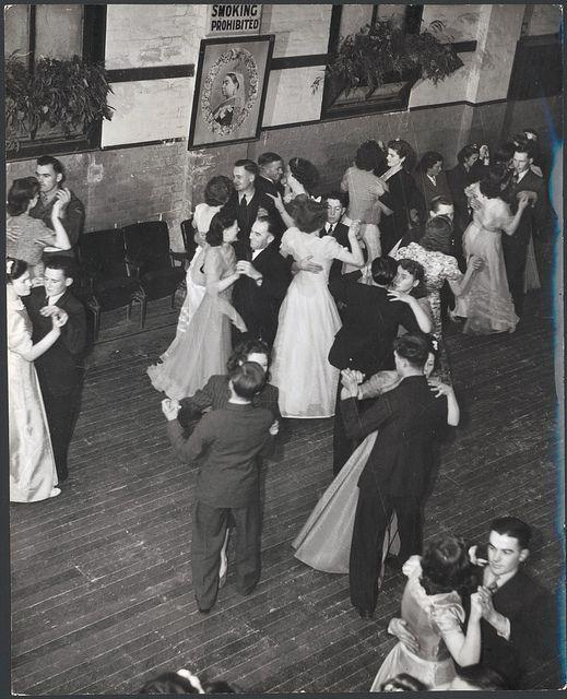 Dancers in the Soldier's Memorial Hall, Drouin, Victoria ...
