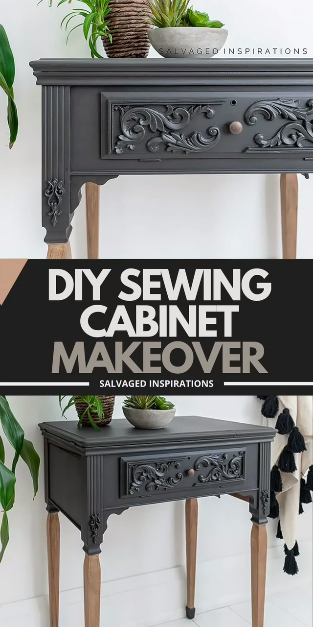 Photo of DIY Sewing Cabinet Makeover