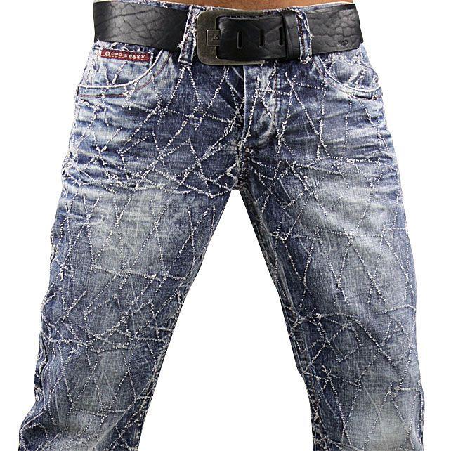 CIPO & BAXX Jeans C 956 W29 38 L 32+34 Designer Hose Herren