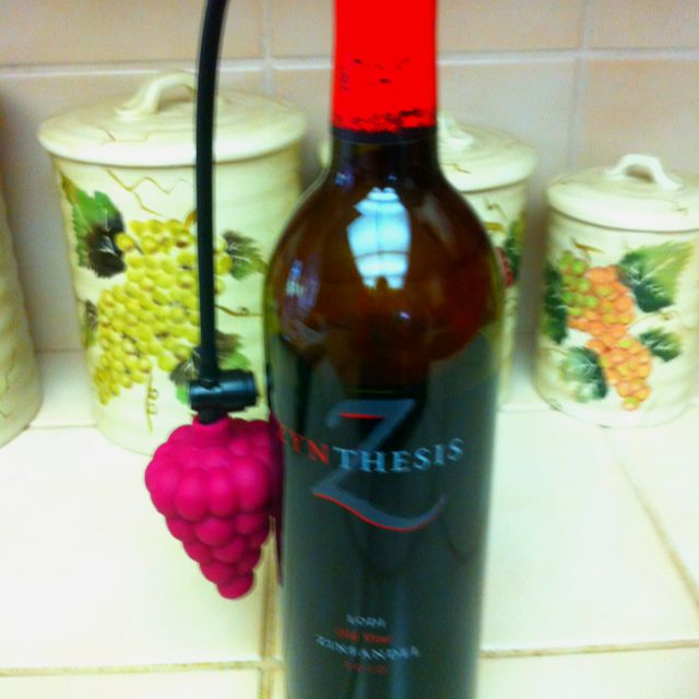 Wine Cork! Yes as seen on Shark Tank. There's a balloon
