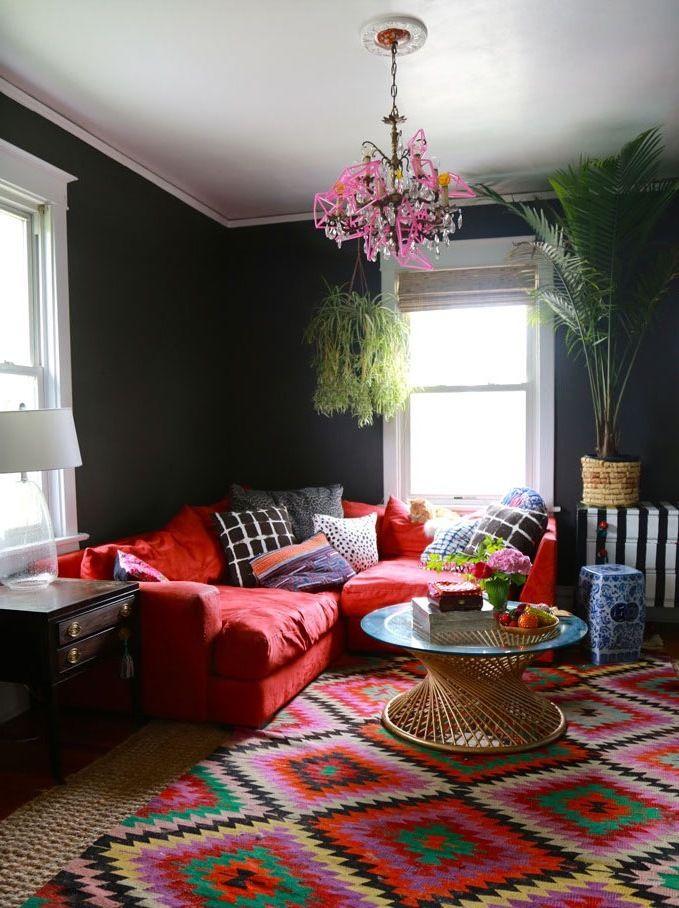 Wohnzimmer Skandinavisch Einrichten: 22 Ideen Für Hussensofa ... Wohnzimmer Skandinavisch Einrichten