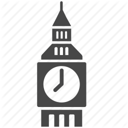 Big Ben British Clock England London Tower Uk Icon Download On Iconfinder Big Ben Tower Icon