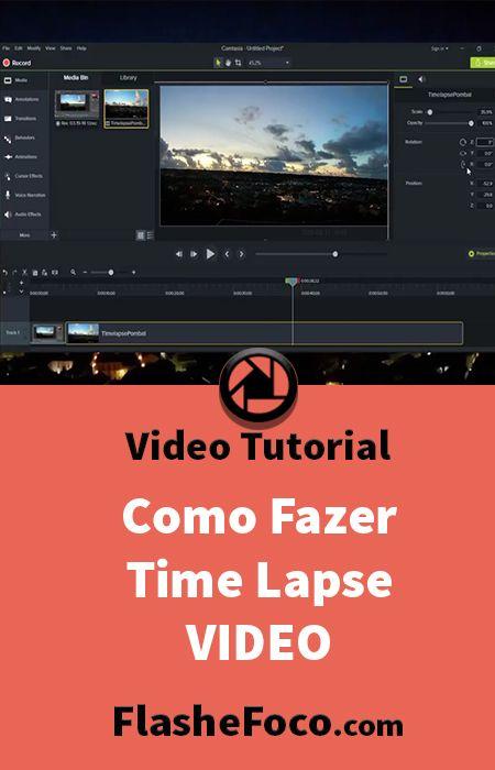 Tutorial Time Lapse Com Photoshop E Correcao De Inclinacao Em