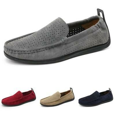 mens driving moccasins pumps slip on loafers shoes flats