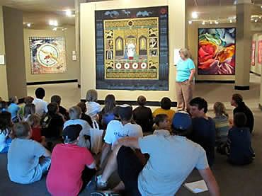Artists Work Chosen For Permanent Collection At National Quilt Museum In Paducah Landscape Art Quilts Art Quilts Art