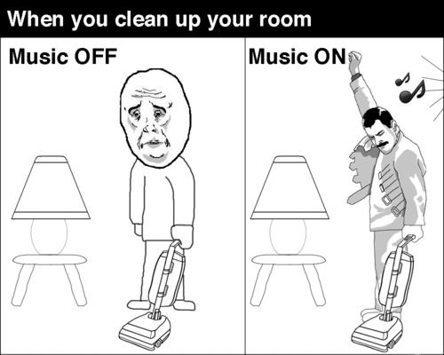 When you clean your room funny memes music meme funny quote