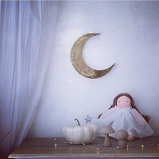 Good night moon...Thank you @cocco_chikako