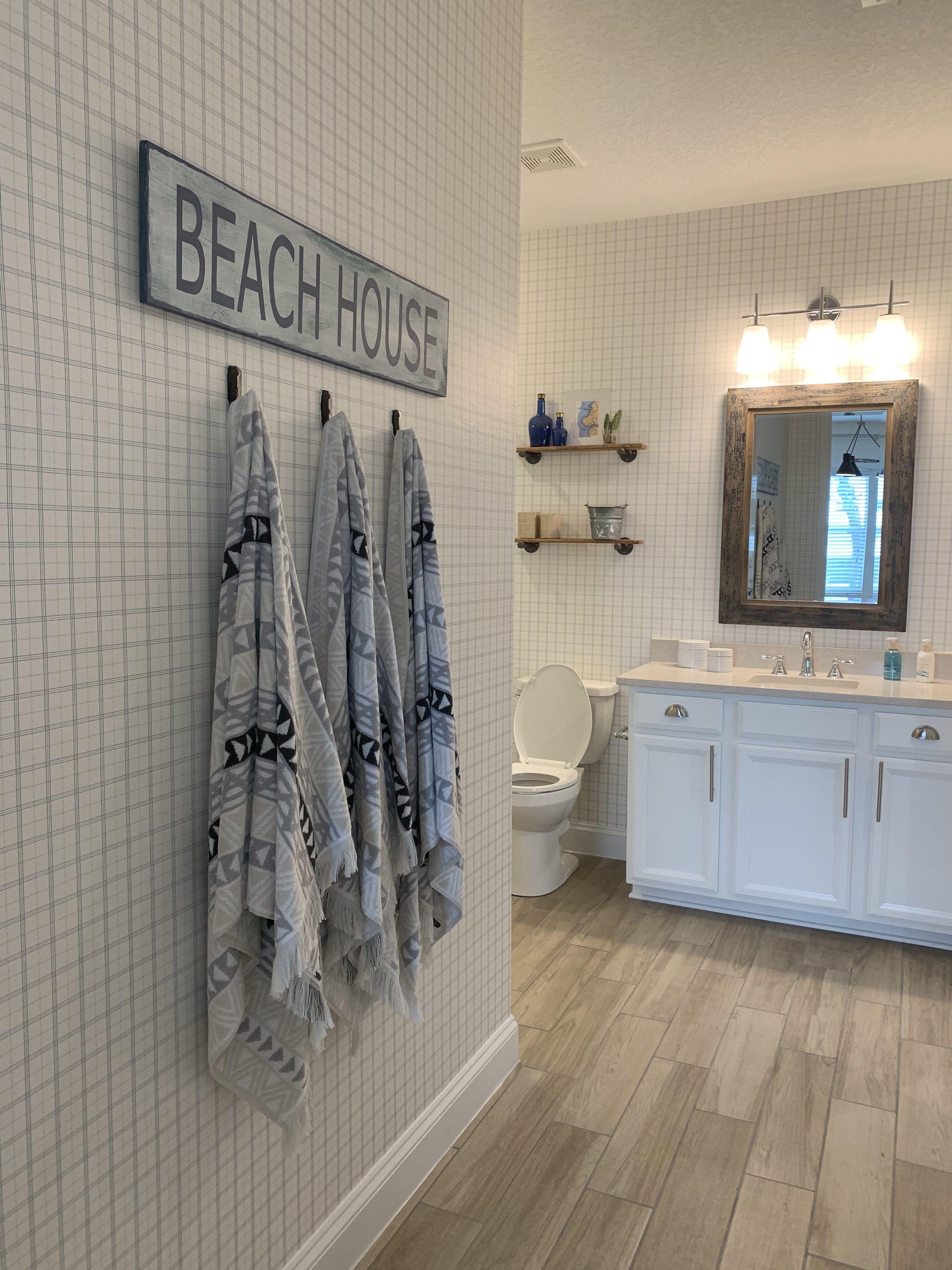 Beach Walk House Tour Coastal Chic Decor Ideas Chic Beach