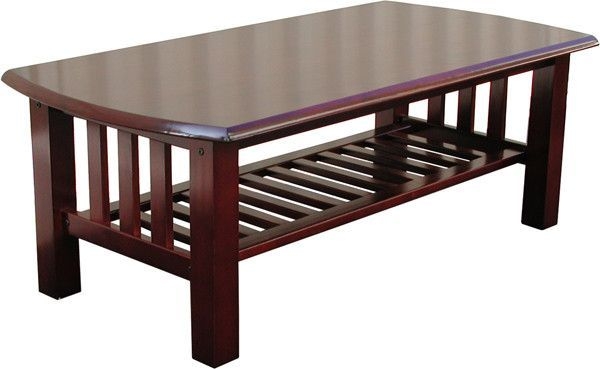 Stanford Mission Walnut Coffee Table from Elite