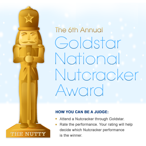 The Goldstar National Nutcracker Award nominees are in! Help us pick the greatest Nutcracker of 2012.
