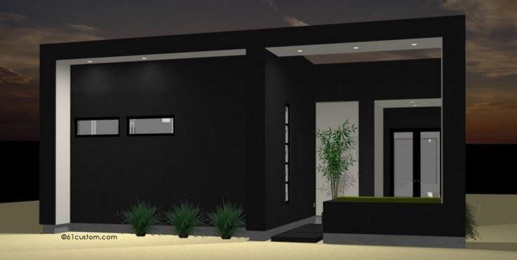 Planos de casas minimalistas de un solo piso planos y for Casa minimalista concepto