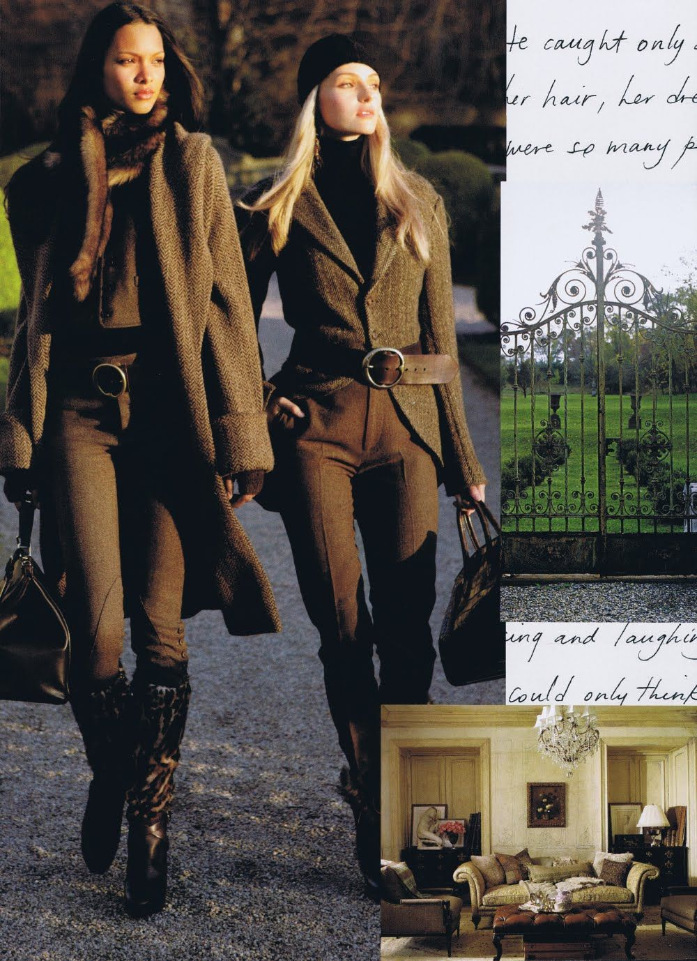 Ralph Lauren Fall 2010 ad campaign