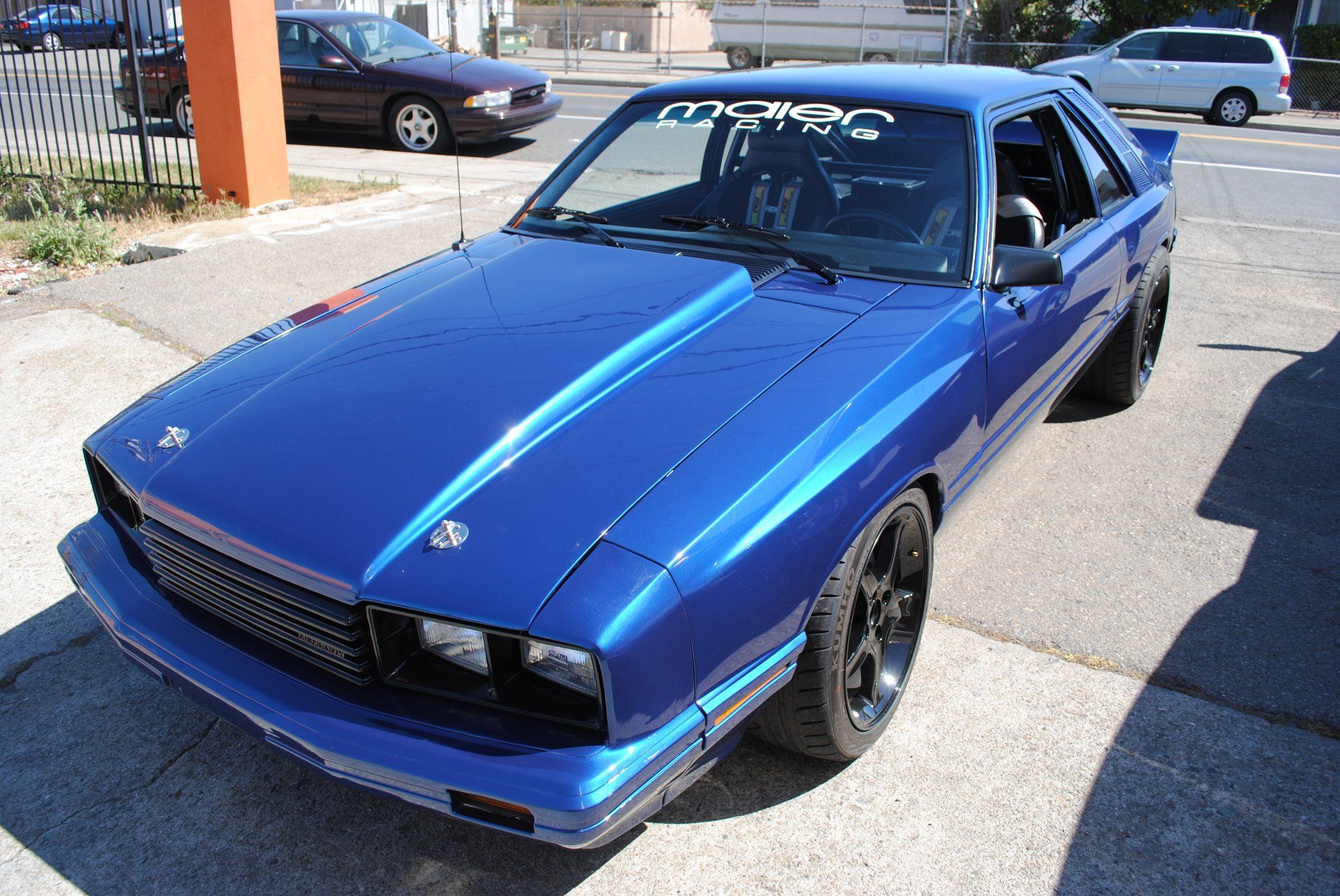 Capri with maier racing parts find this pin and more on fox body mustangs