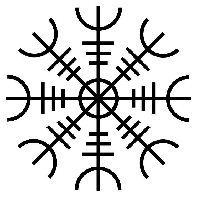 Aegishjalmur helm of awe rune secrets community - Symbole de protection ...