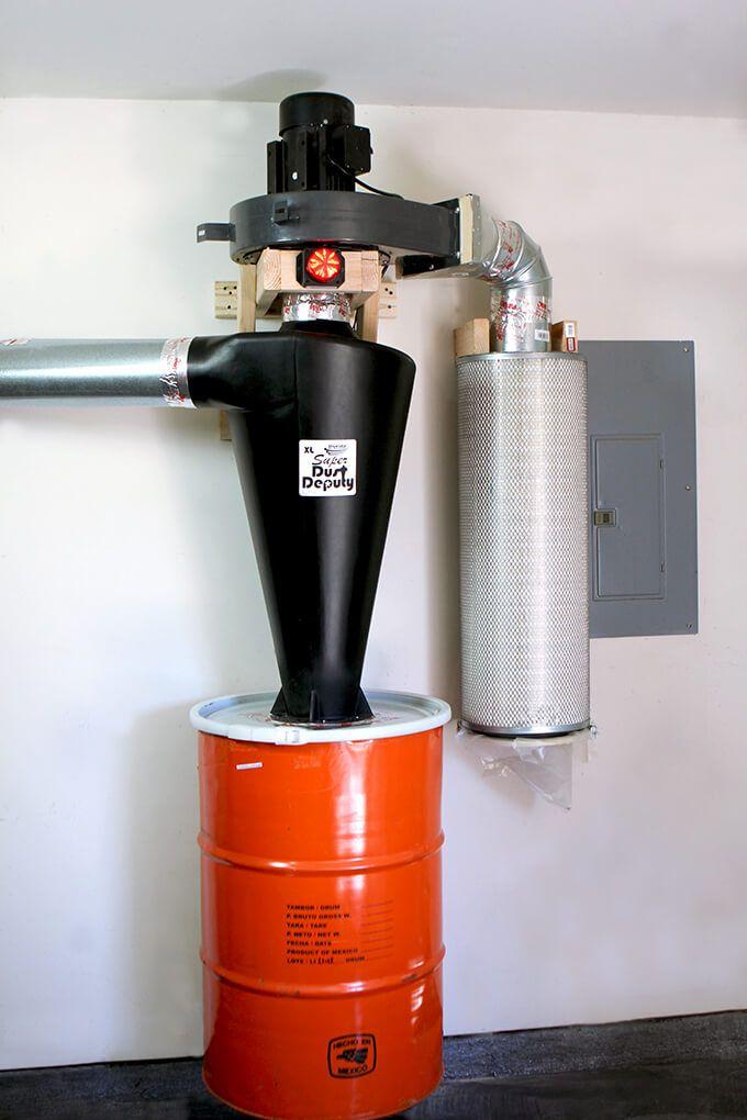 Harbor Freight Dust Collector Mod Workshop Dust