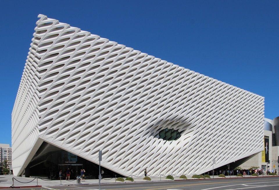 Broad Museum, Los Angeles Architectural Precast Concrete