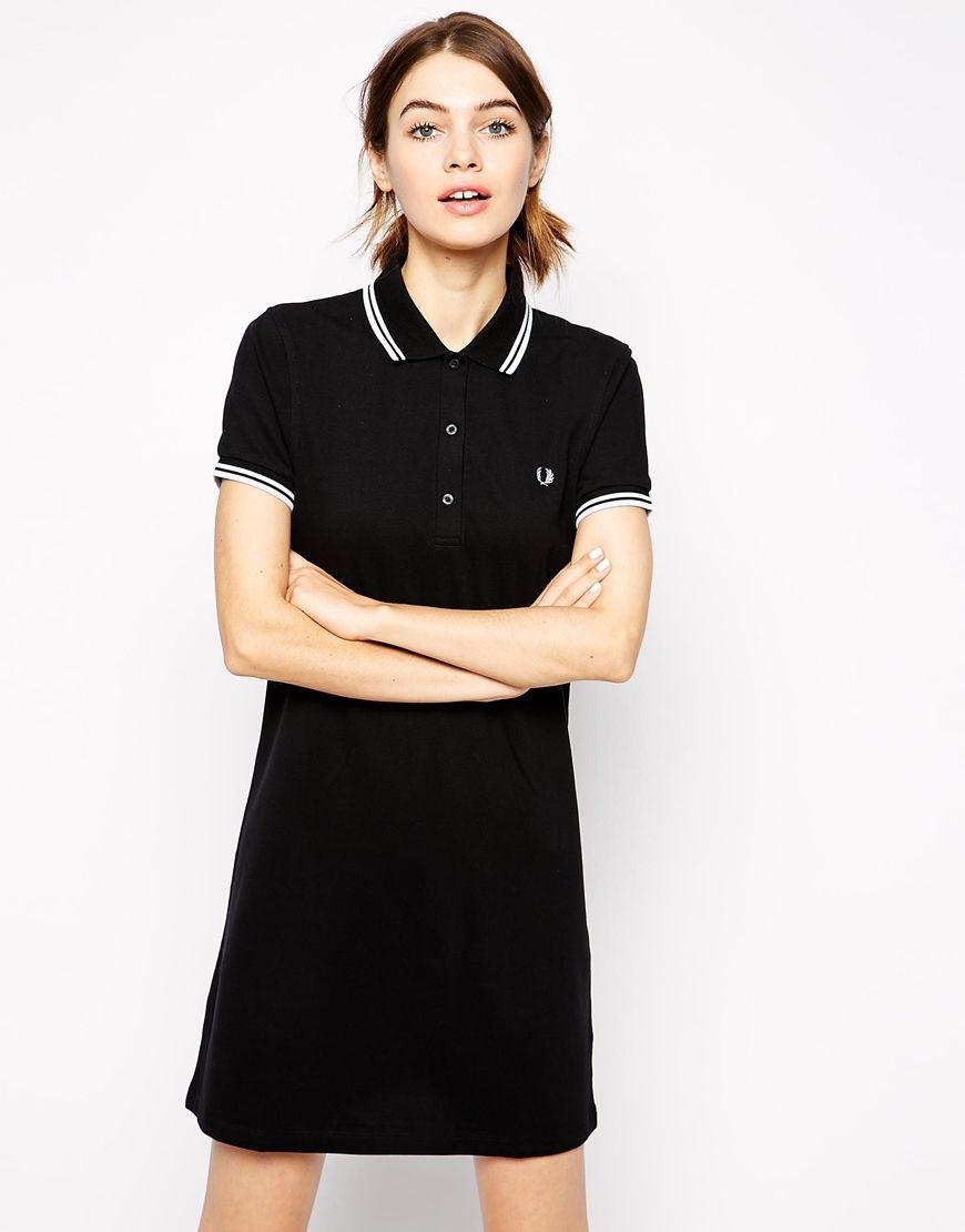 Fred Perry Polo Shirt Dress Klder Snt Dresses Polo Och
