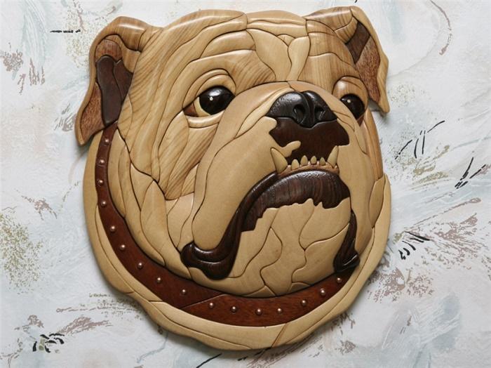 Oleg Pankov Wood Mosaic Paintings Art Kaleidoscope In 2020 Intarsia Wood Intarsia Wood Patterns Bulldog Figurine