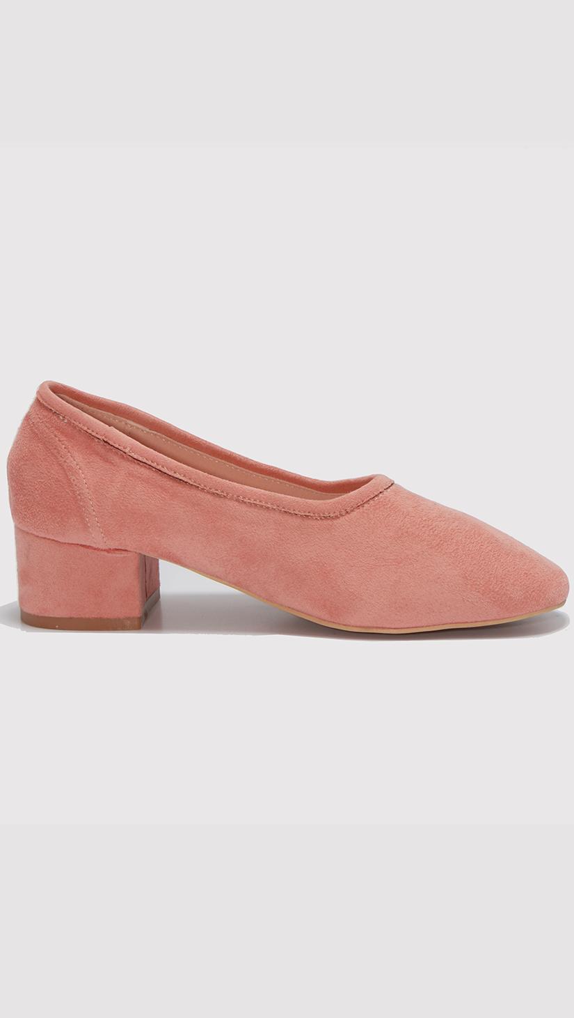 da5656ef6c1d blush socks flat heels – LOÉIL