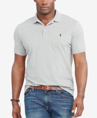 8072d4f71 POLO RALPH LAUREN Polo Ralph Lauren Men s Big   Tall Classic-Fit Stretch-Mesh  Polo Shirt.  poloralphlauren  cloth   polos