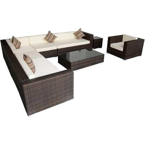 Prezzi e Sconti: #Outsunny set mobili da giardino in poly ad Euro ...