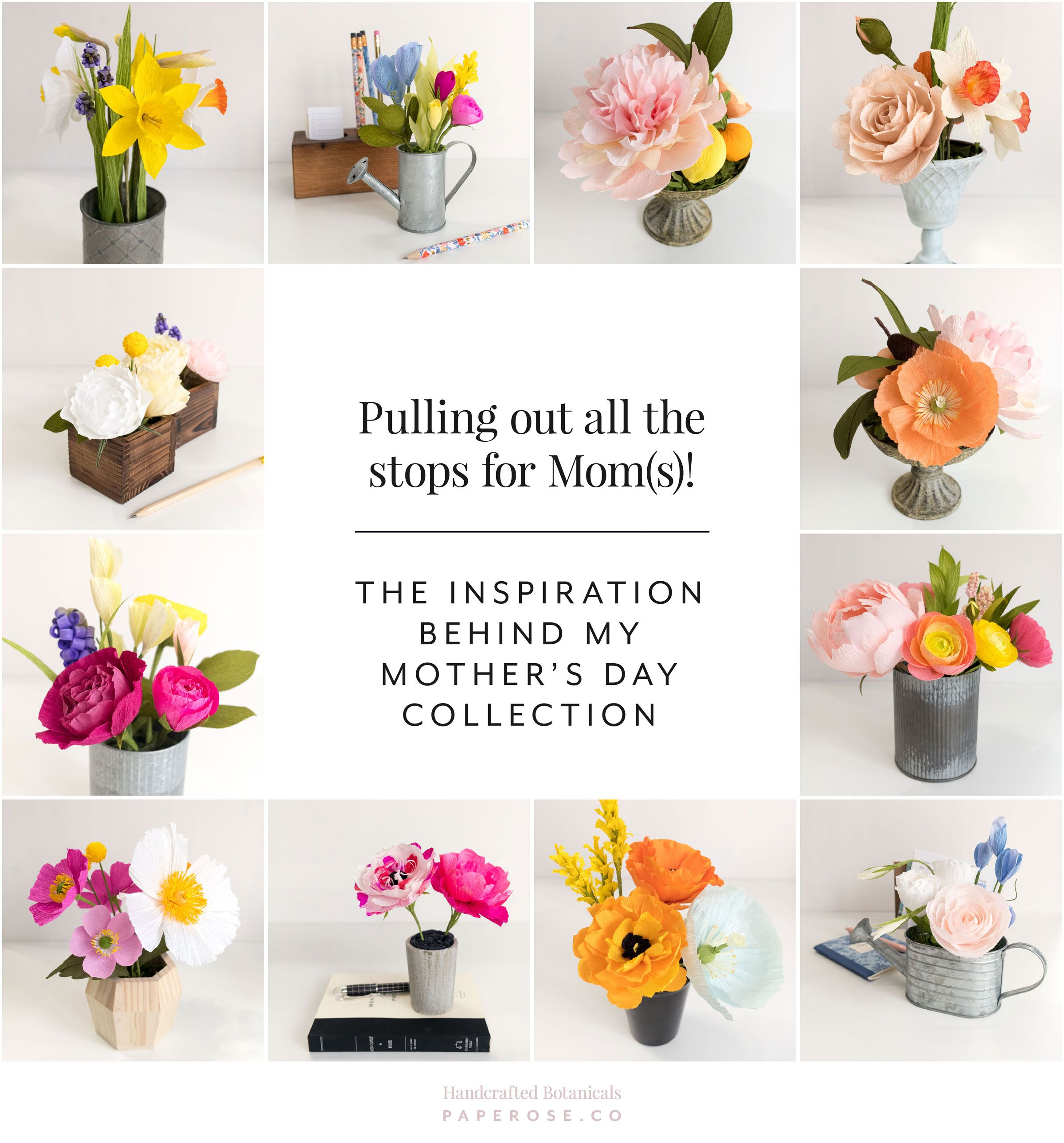 Pulling Out All The Stops For Moms Paper Rose Co 2018