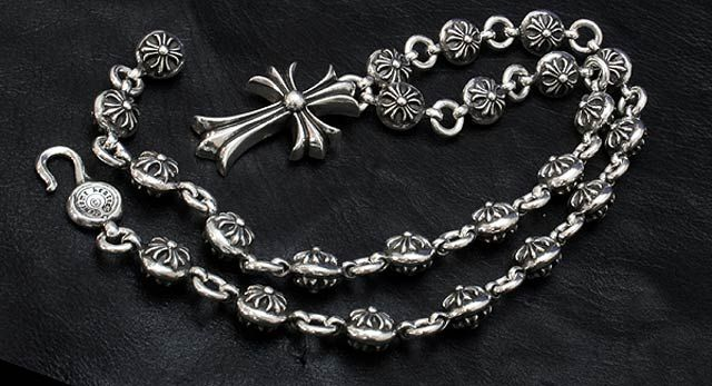1cbec9b71eaf I own this Chrome Hearts Silver Cross Necklace… ♡
