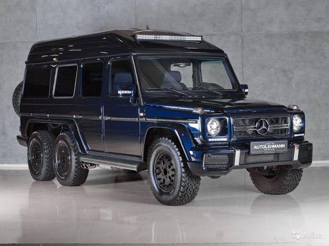 Mercedes Benz G500 6x6 By Schulz Tuning Mercedes Benz G500 Mercedes Mercedes G
