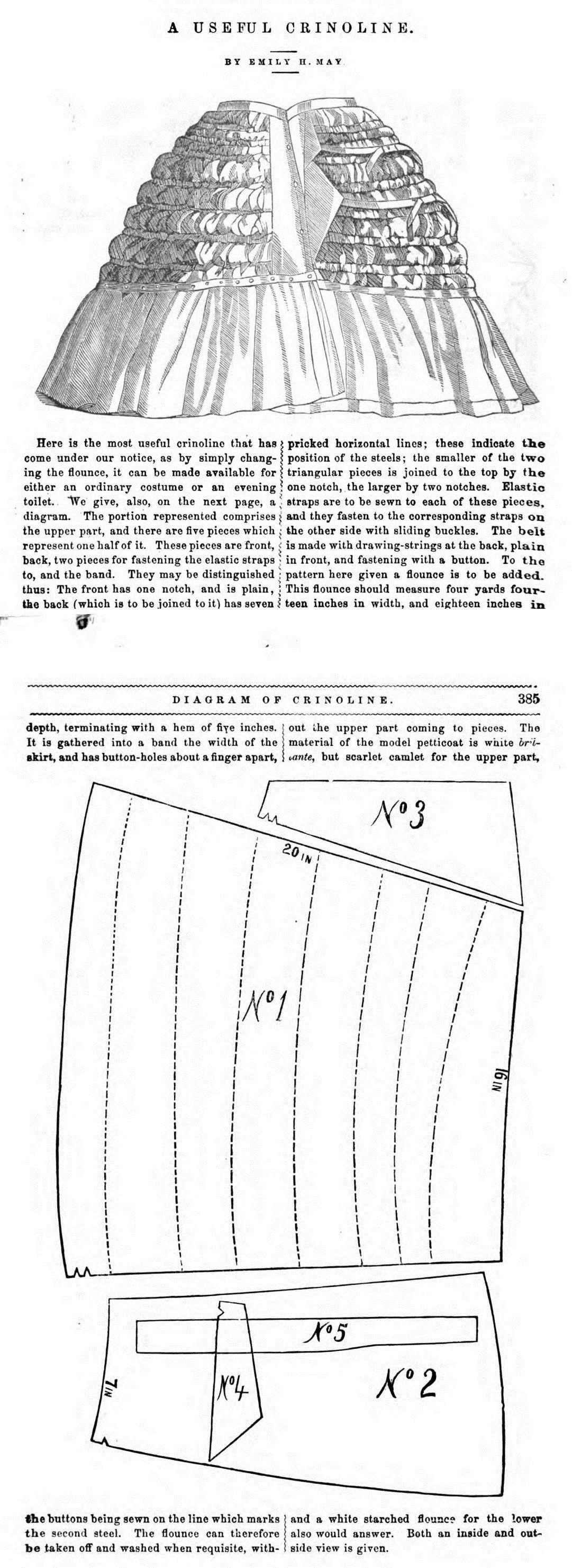 Peterson\'s Magazine 1871 | Patterns | Pinterest | 1920er ...