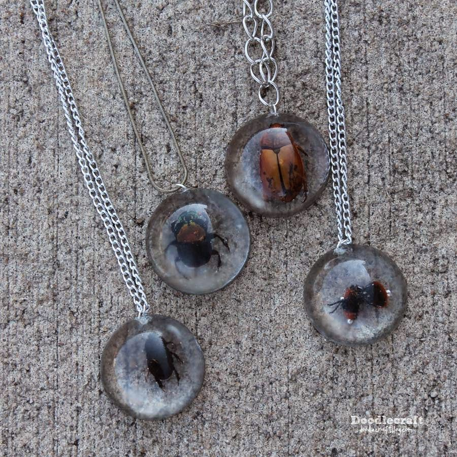 Beetles in resin jewelry turn dead bugs into spooky necklaces beetles in resin jewelry turn dead bugs into spooky necklaces great for halloween fashion solutioingenieria Choice Image