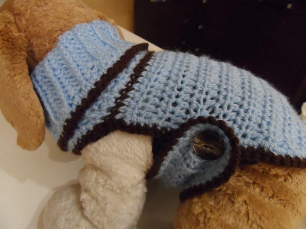 Tutorial: cappottino per cani (parte 1)   maglia   Pinterest
