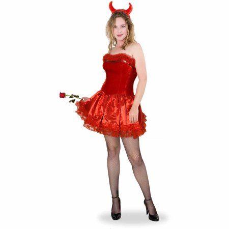 49063e7fb8 Lava Diva Devil Corset Women s Plus Size Adult Halloween Costume ...