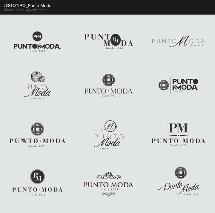 logotipo tienda de ropa punto moda
