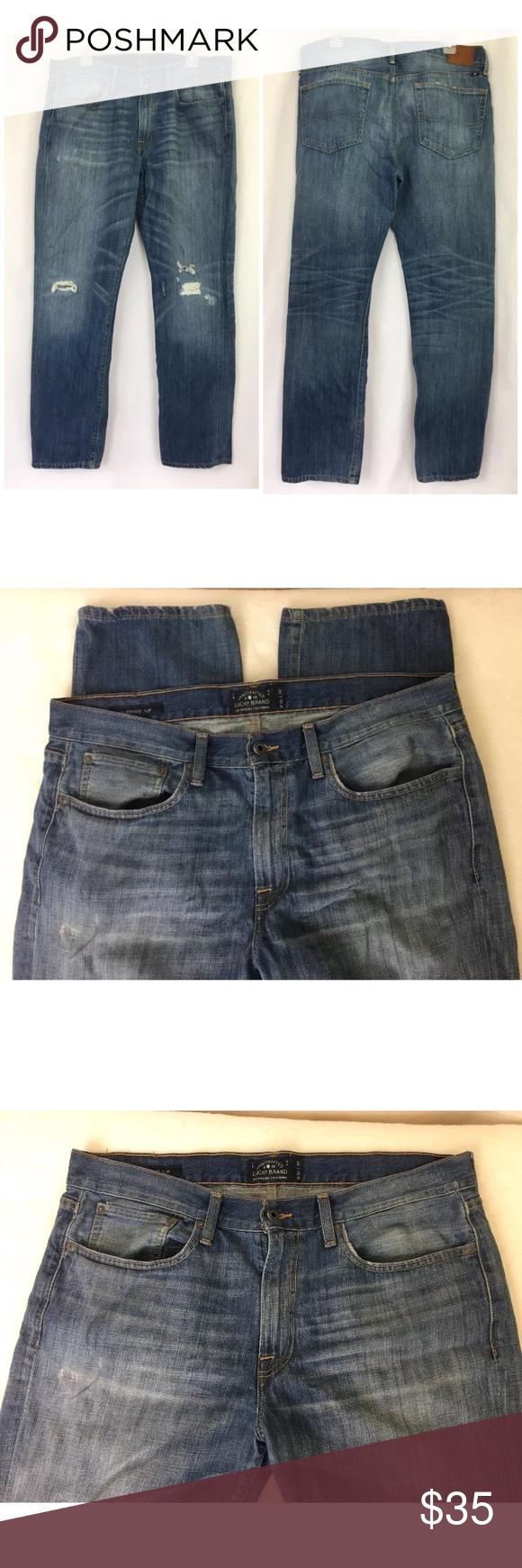 33730611897e Lucky Brand Jeans 36 30 121 Heritage Slim Lucky Brand Jeans 121 Heritage  Slim