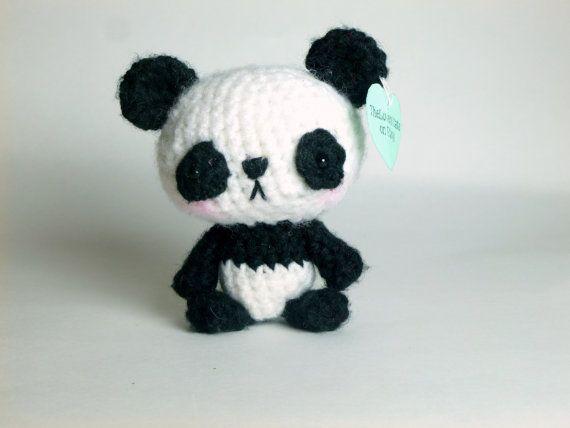 Lindo Oso Panda De Peluche Animal Oso De Panda Por