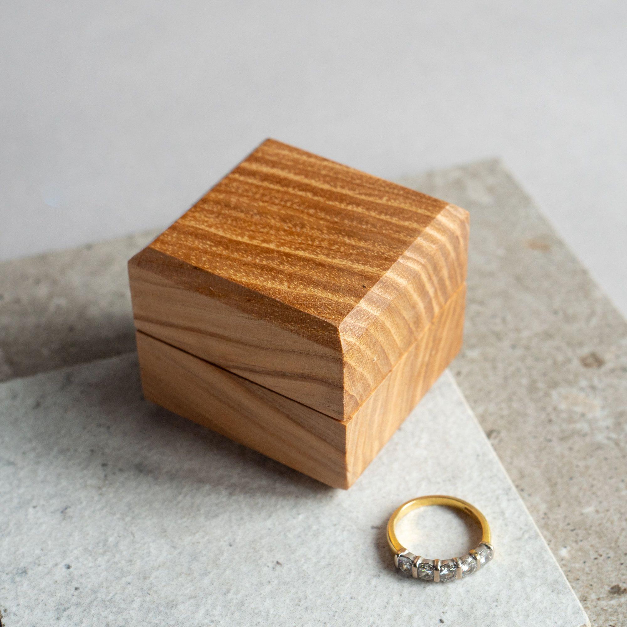 Handmade Wooden Ring Box Engagement Ring Box Wedding Ring Etsy Wooden Rings Wooden Ring Box Etsy Wedding Rings