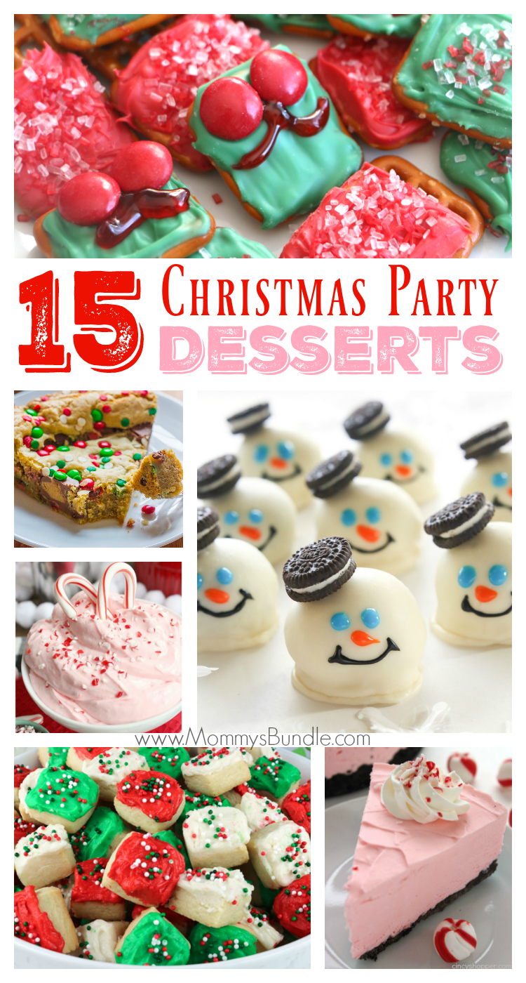 15 Delicious Christmas Party Dessert Ideas | Cookie recipes ...