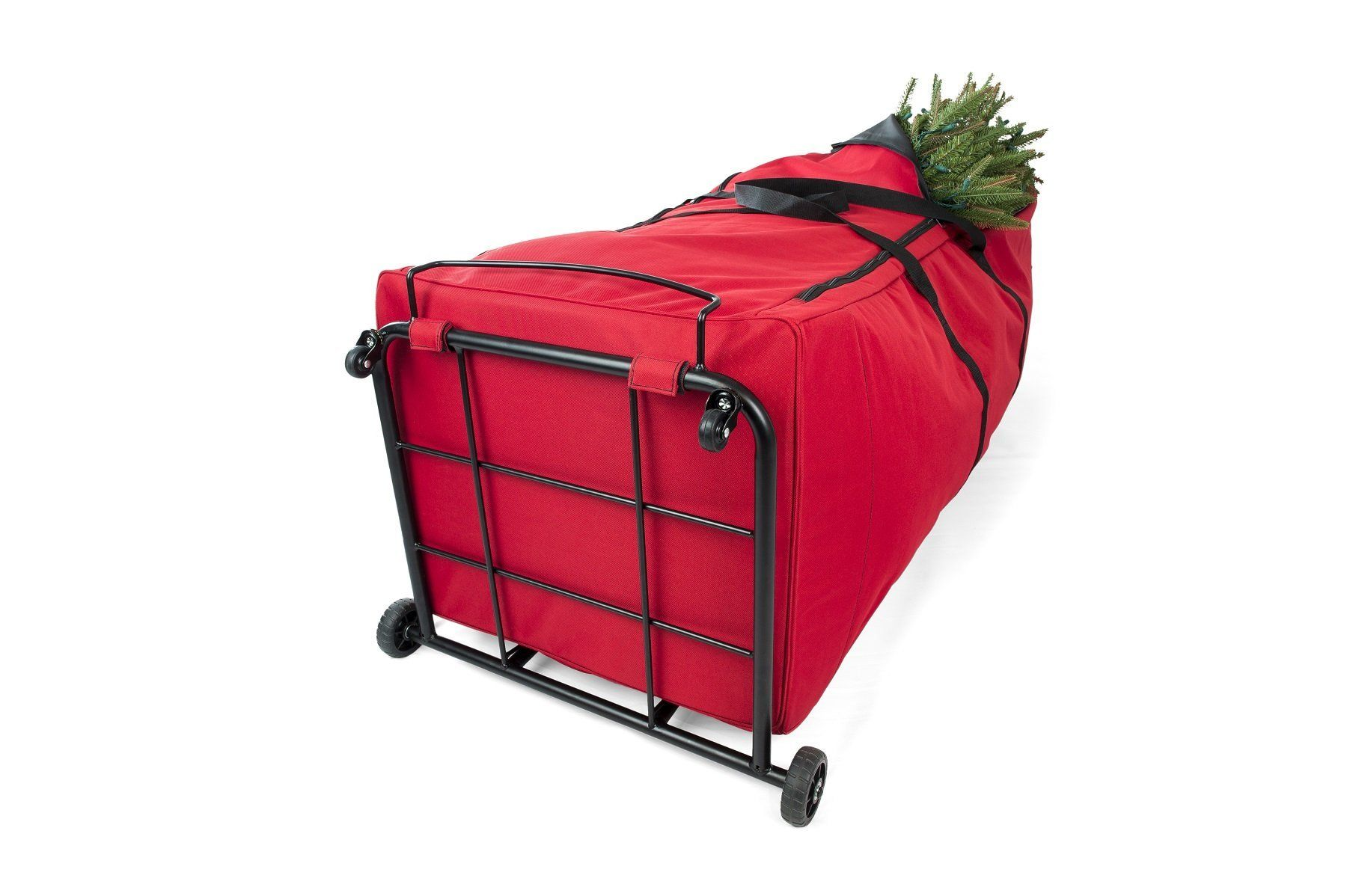Santas Bags Upright 9 Ft Tree Storage Duffel Bag With