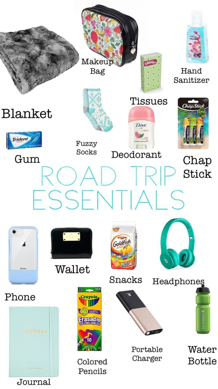 Your Road Trip Essentials Packing List—Including a PRINTABLE Checklist